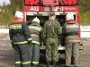 Пожарно-тактические учения в аэропорту Печора