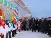 Открытие ледового дворца «Сияние Севера»