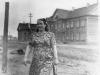 1955 г. Первые дома ж/д части по ул. Островского.  Фото из архива А.В. Буровой.