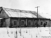 Здание построено в 1941 г, в нем рамещалась столовая, контора ОРСа и клуб речников