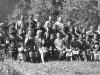 Участники первого фестиваля фольклора в г. Сыктывкаре, июнь 1972 г. Клуб Щельяюр.