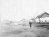 1950 г. Жилые бараки зоны по ул. Стадионной. Здесь до сих пор живут люди.  Фото из архива А.В. Буровой.
