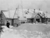 Бывший детский сад, сейчас там магазин «Хоттабыч». март 1950 г. Из архива Татьяны Николаевны Лебедевой.