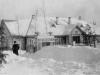 Бывший детский сад, сейчас на этом месте магазин «Хоттабыч». Март 1950 г. Из архива Татьяны Николаевны Лебедевой.