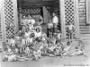 1948-49 г. Детский сад в р-не ДКЖ (сейчас снесен). Фото из архива Иваровской Любови Васильевны.