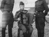 А.К. Ерофеевский (справа), ветеран органов внутренних дел. Служба в Германии. 1950 г.