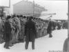 1987 г. Учения по гражданской обороне МВД в п. Луговой. Фото из архива Люции Степановны Егоровой.