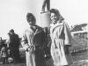 1960-61 г. Памятник Ленину у ДКЖ. Фото из архива Иваровской Любови Васильевны.