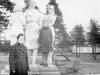 1970 г. Памятник в парке. Фото из архива Артема Полещука.