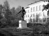 Памятник С.М. Кирову около Печорского речного училища