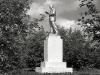 Памятник Ленину около ДКЖ