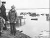 Вид на реку Печору во время паводка (09.05.1979 г.)