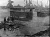 Печорский речной порт во время наводнения (май 1979 г.)