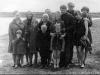 Семьи Терентьевых, Чабан, Югановых на берегу Печоры (70-е годы)