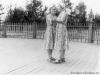 1953 г. Танцплощадка в городском парке (там сейчас Вечный огонь). Фото из архива Сухоруковой Валентины Владимировны.
