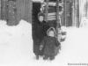 1954 г. Сараи по ул. Ленинградской. Фото из архива Надежды Николаевны Скипидаровой.