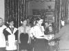 Награждение пионеров. В бывшей столовой по ул. Ленинградской. 1953 г. Из архива Натальи Еремейчик