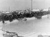 11 апреля 1965 г. Проводы зимы на стадионе в речной части. Катание на оленьих упряжках и лошадях. Фото из архива Байковой Альбины Афанасьевны.