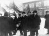 9 мая 1967 г. Демонстрация. Колонна бывшего СМУ-5. Фото из архива Феденкова Владимира Николаевича.