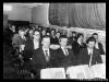 Делегации Печорской и Щельяюрской РЭБ на XVI профсоюзной конференции речников Печоры (29.11.1986 г.)