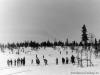 Катание на лыжах около кладбища (04.03.1952 г.)