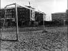 Каркас ворот на стадионе локомотивного депо (1988 г.)