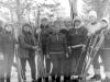 Лыжные соревнования, команда ОРСа-10. Март 1986 г. Из архива Г.В. Рожко