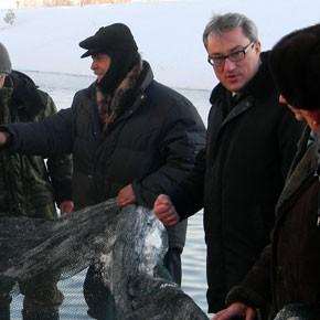 Глава РК посетил рыбоводное хозяйство