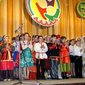 Детский праздник культуры коми народа