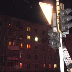 Столкновение со светофором