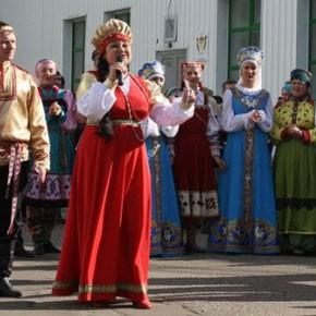 Печорская делегация на юбилее Республики Коми