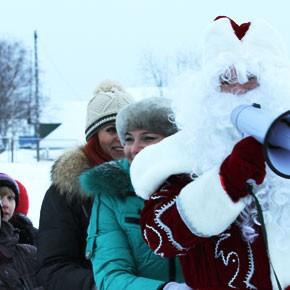 Новогодние старты на льду – ФОТО