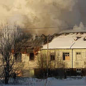 Пожар на Ленинградской