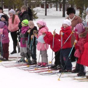 Детская лыжня