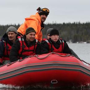 Тренировка спасателей – ФОТО