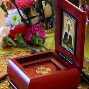 Частица святыни – в нашем храме