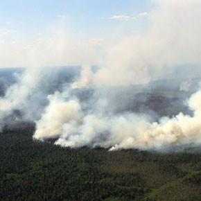 Причина пожаров – неосторожность