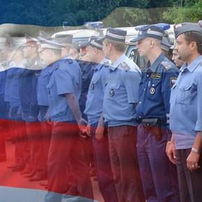 На службу – в полицию