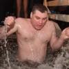 Печорское купание в крещенскую ночь
