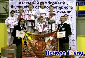 Печорские каратисты вернулись с медалями