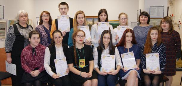 На базе Печорского историко-краеведческого музея третий раз состоялся муниципальный краеведческий конкурс «История моей школы»