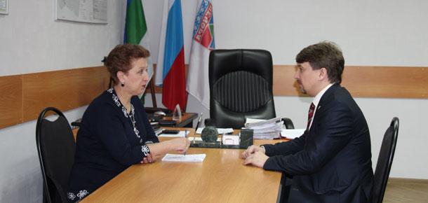В течение двух дней в Печоре работала уполномоченный по правам человека в Республике Коми