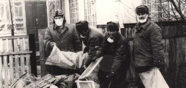 В Печоре ликвидаторов последствий чернобыльской катастрофы на сегодняшний день 45 человек
