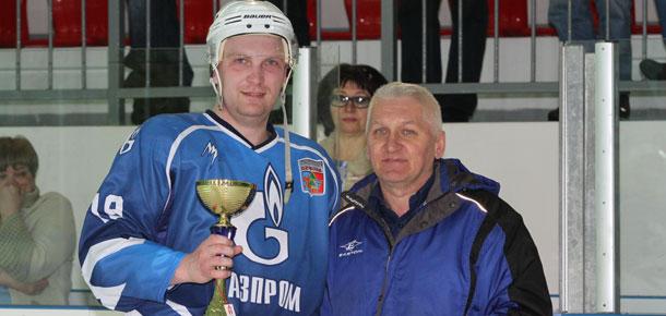На ледовой арене СОК «Сияние севера» прошел заключительный поединок на звание обладателя Кубка Печоры