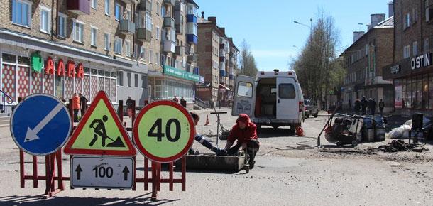 В Печоре приступили к ямочному ремонту дорог