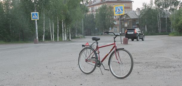 Сбил велосипедиста