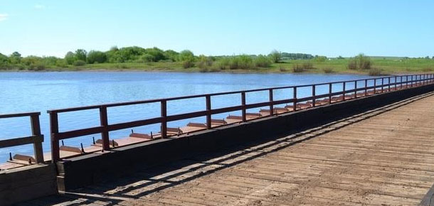 Открыто движение по наплавным мостам в Княжпогостском и Печорском районах