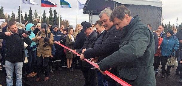 В Коми открыли участок Малая Пера – Ираёль межрегиональной дороги Сыктывкар – Нарьян-Мар