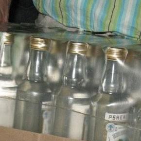 Успел выпить две бутылки...