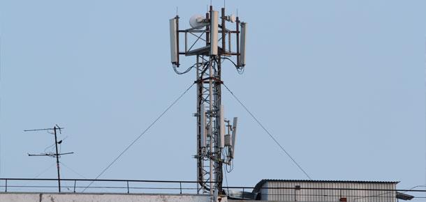 О размещении антенн
